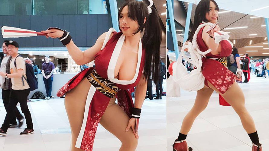 anime cosplay boobs