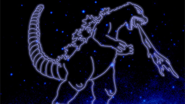 Godzilla Becomes NASA-Recognized Constellation