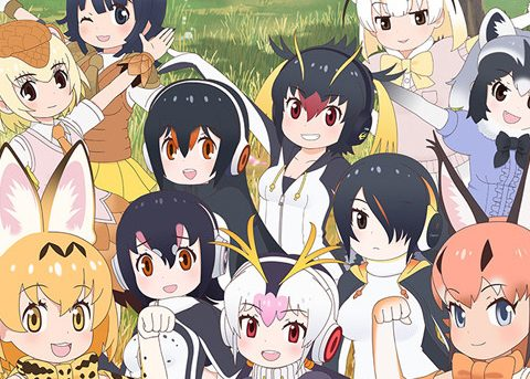 Serval and Caracal Are Ready for Kemono Friends Season 2 in New Visual