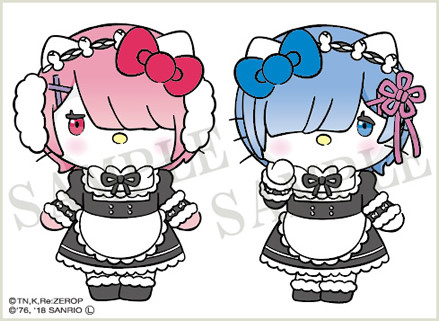 Re:Zero -Teams Up With Hello Kitty for Ultra-Cute Collaboration