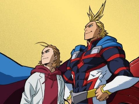 My Hero Academia All Might Origin Manga Gets Short Anime Adaptation