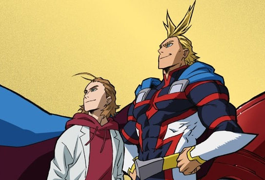 My Hero Academia All Might Origin Manga Gets Short Anime Adaptation