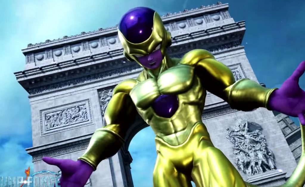 Jump Force Trailer Pits Goku and Vegeta Against Golden Freeza
