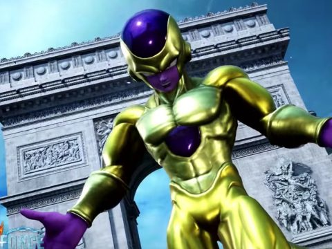 Jump Force Trailer Pits Goku and Vegeta Against Golden Freeza