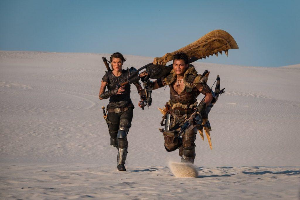 Still Revealed from Milla Jovovich Monster Hunter Movie Set