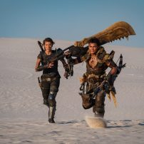 Still Revealed from Milla Jovovich Monster Hunter Movie Set
