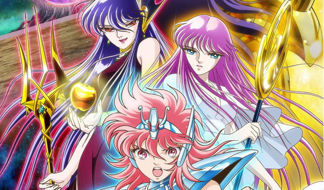 Saint Seiya: Saintia Sho Anime Gets Main Visual, Cast and Crew