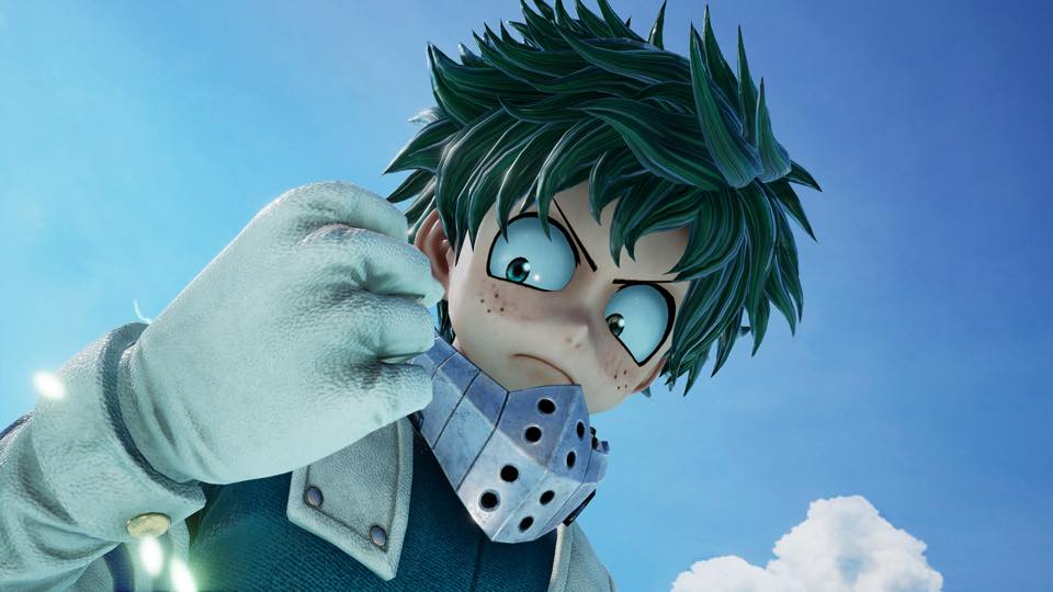 JUMP FORCE Introduces Story, Adds My Hero Academia's Deku