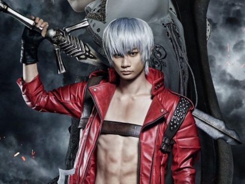 Dante is Ripped in Real Life on Devil May Cry Stage Play Poster