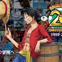 Speed Through 20 Years of One Piece Anime in Anniversary Promo
