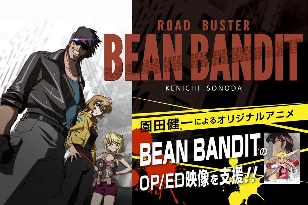 Kenichi Sonoda's Bean Bandit Reveals Cast, Aims to Crowdfund OP and ED