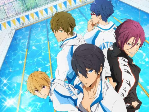 New Free! Anime Film Lined Up Nicely for Tokyo's 2020 Olympics