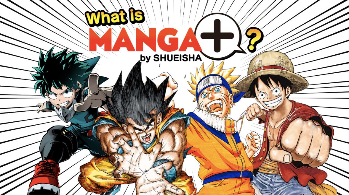 Publisher Shueisha Launches Simulpub MANGA Plus Service