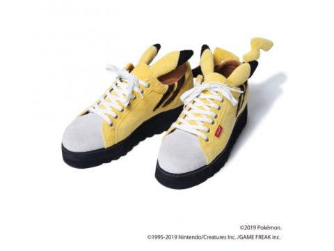 These Pikachu Sneakers Are So Crazy They Just Might Work