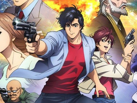 City Hunter Anime Film Gets Immersive 4D Screenings in Japan