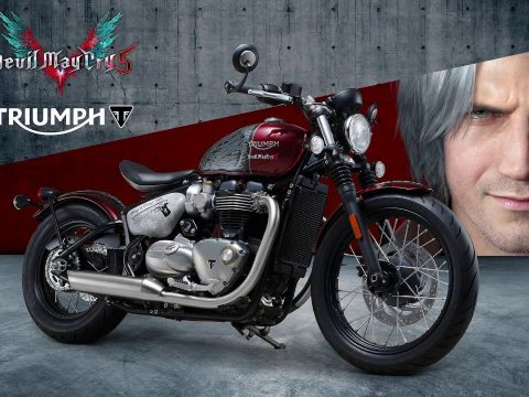 Devil May Cry 5 Contest Offers Up an Actual Motorcycle