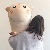 Life-Size Pokémon Plush is Absurdly Long
