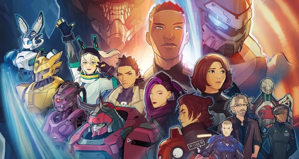 The Ultimate Mecha Battle Begins in Rooster Teeth's Sci-Fi Anime gen:LOCK