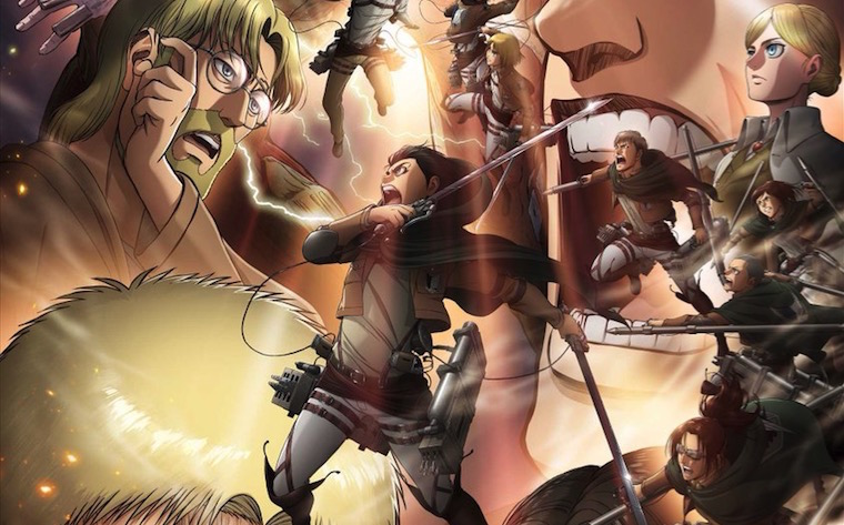 The Gang's All Here in New Attack on Titan Anime Visual