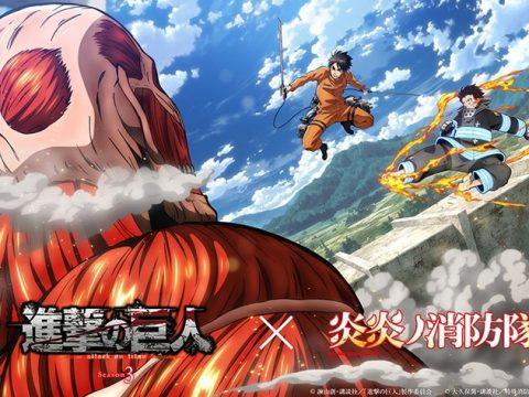 Attack on Titan Battles Alongside Fire Force in AnimeJapan 2019 Visual