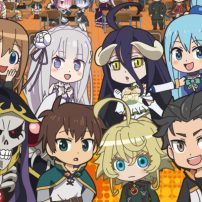Worlds Collide in Latest Isekai Quartet Preview