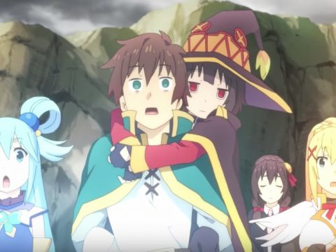 KONOSUBA Anime Film Prepares for the Big Screen in New Trailer