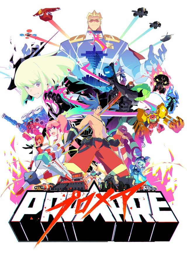 Trigger S Promare Anime Film Adds Cast Members And Shares