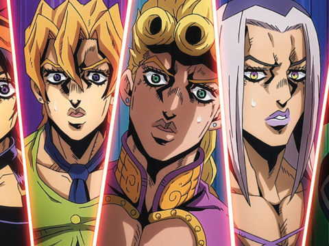 The Jojo's Bizarre Adventure love train continues with Golden Wind