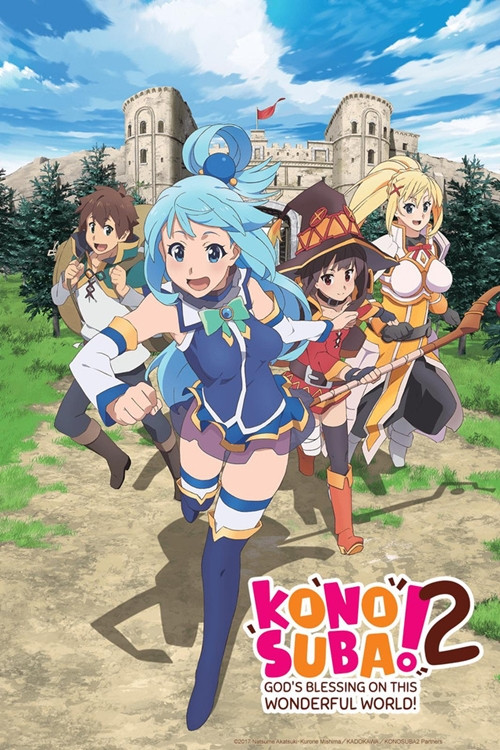 isekai anime - KONOSUBA -God's blessing on this wonderful world!