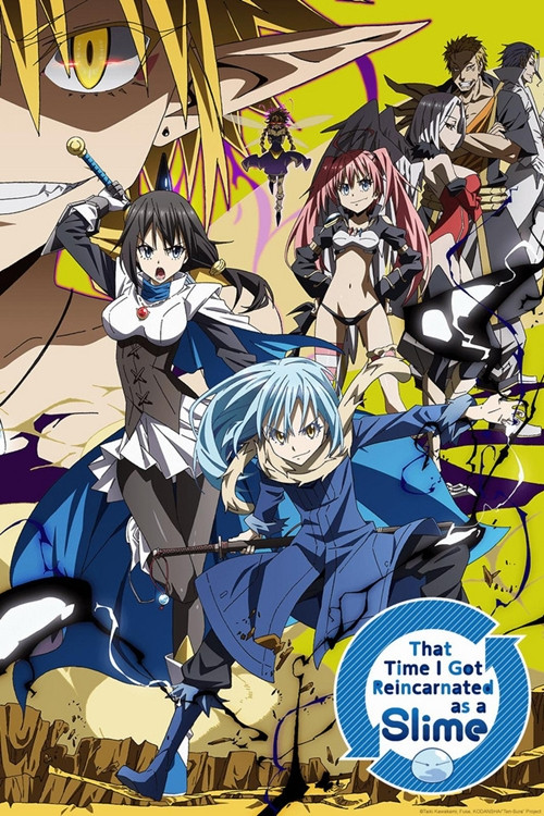 isekai anime - That Time I Got Reincarnated as a Slime