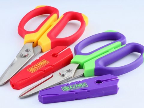Evangelion's Next Step for World Domination is… Branded Scissors!