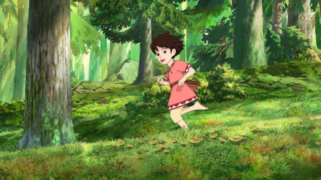 Ghibli's Ronja, The Robber's Daughter Anime Series Heads to Blu-ray