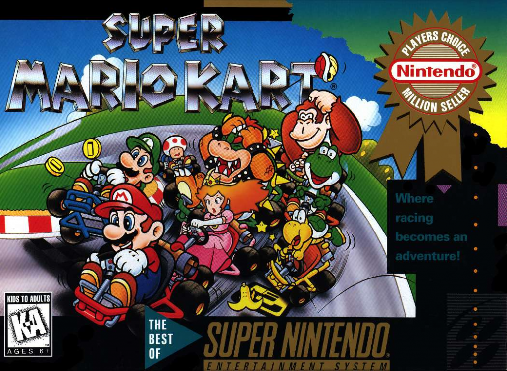 Super Mario Kart Enters World Video Game Hall of Fame