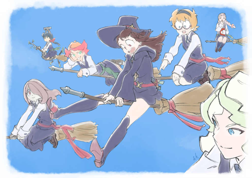 Little Witch Academia Gets Its Own VR Broom Racing Game