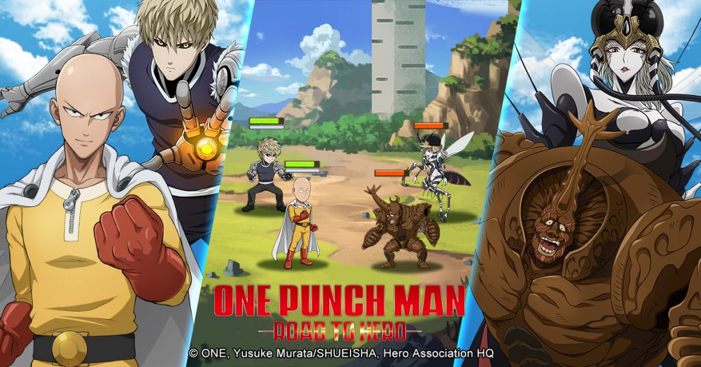 One-Punch Man: Road to Hero Game Brings the Series to Mobile Devices