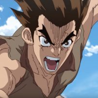 Dr. STONE Anime Previewed in Dramatic New Trailer