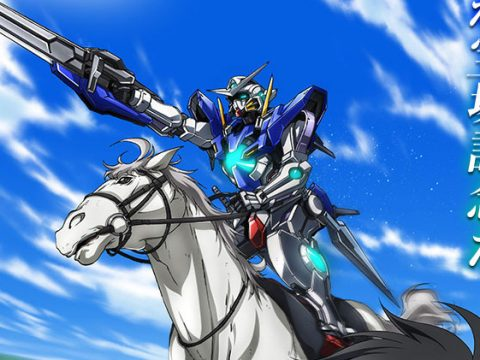 Mobile Suit Gundam Used to Promote Horse Racing