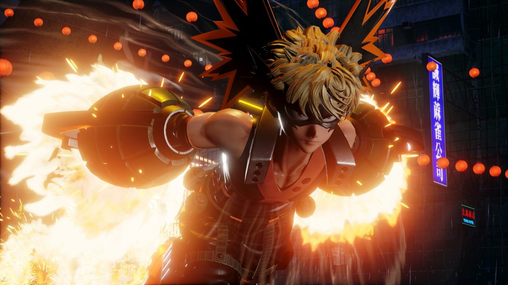 See How My Hero Academia's Bakugo Looks in Jump Force
