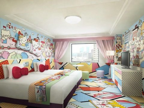 Tokyo Hotel Adds More Cute Themed Rooms to Keep Hello Kitty Company