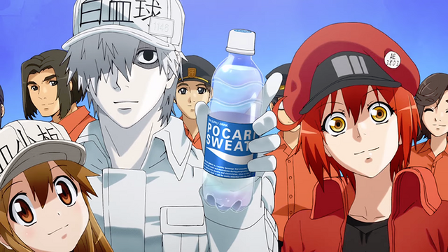 Cells at Work! Anime Wants You to Stay Hydrated in Pocari Sweat Collab