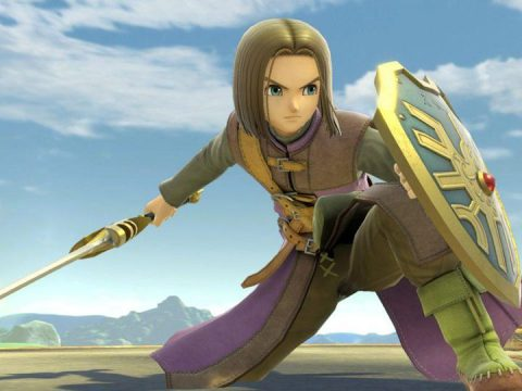 Super Smash Bros. Ultimate Adds Dragon Quest's Hero Today