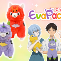 Evangelion Collaborates with Alpacasso for Absurdly Cute Merch