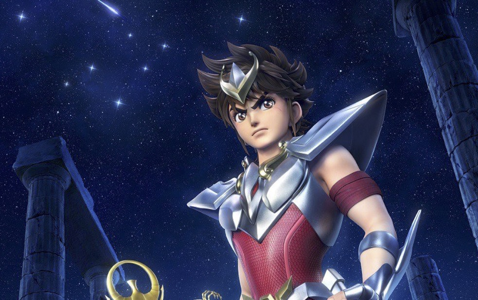 CG-Animated Saint Seiya Previews Theme Song by The Struts