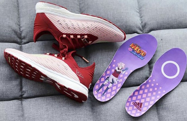 Sakura Takes the Spotlight in First Adidas Naruto Sneakers