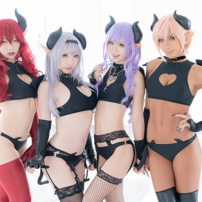 Japan Starts Selling Sinister and Sexy Succubus Swimwear