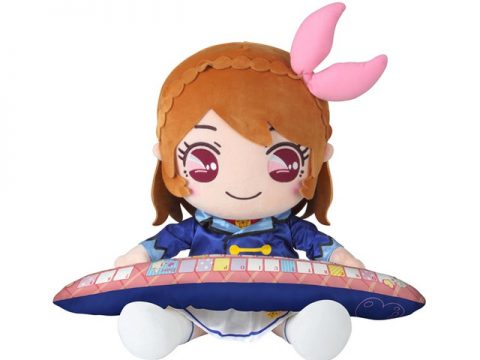 Adorable Aikatsu! PC Cushion Lets You Be Productive and Comfy