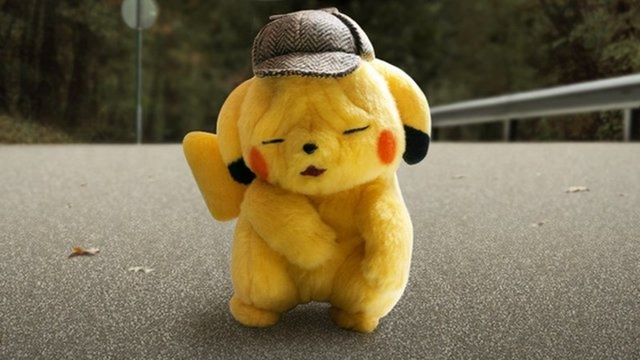 Detective Pikachu's Wrinkly Face Inspires New Stuffed Toy