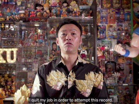 Dragon Ball Fan Quits Job to Build Record-Breaking Collection
