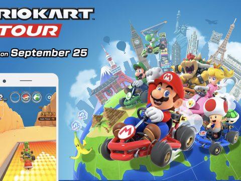 Mario Kart Tour Races onto Smartphones September 25