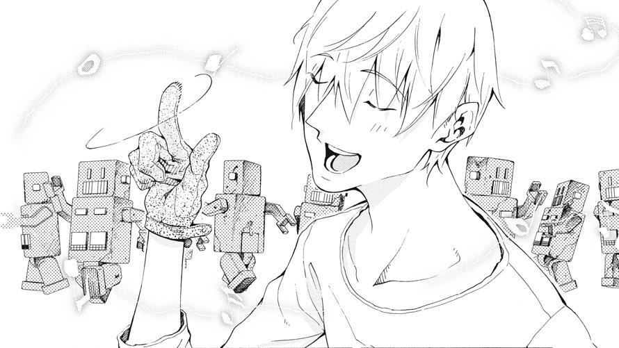 Kino's Journey: The Beautiful World manga
